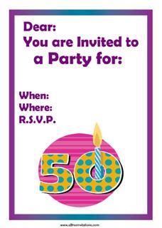 Polka dot 50th party
