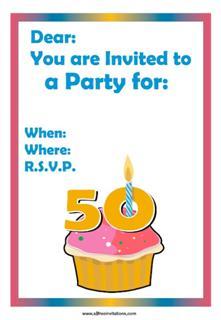 Pink cupcake 50th
