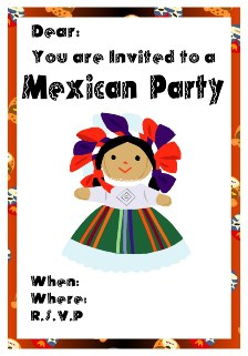 Free Mexican Party Invitations All Free Invitations