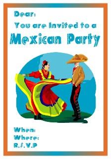 flamenco dancers invite