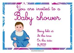 plump baby shower invite free