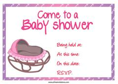 Rocker baby shower invitation free