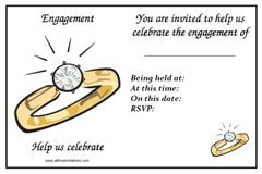 Print free engagement party invites