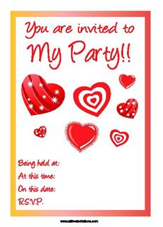 invitations for all occasions FREE