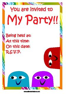 Free Childrens Invitations is perfect invitations example