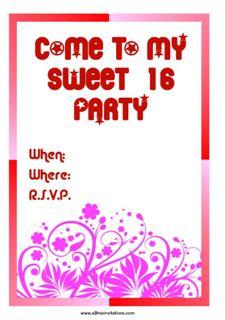 Choose free invitations