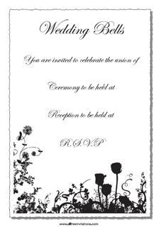 choose a free wedding invitation to save money