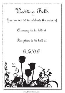 wedding invitations are expensive except when they are free