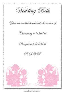 free wedding invitations are win